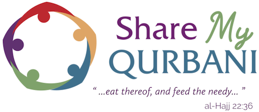 Share My Qurbani with local families in need
